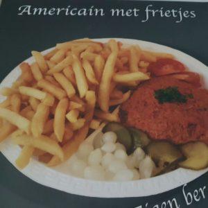 bereiding Américain met frietjes