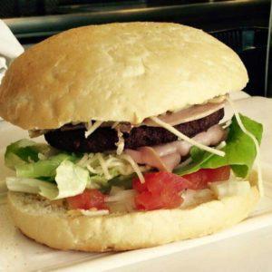 bereiding Baconcheese Burger