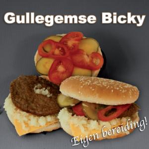 bereiding Gullegemse burger